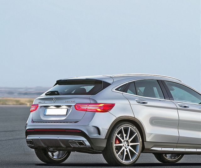 2019 mercedes benz gla rear 2019 and 2020 new suv models for Mercedes benz suv models