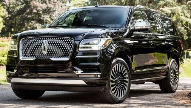 2018 Lincoln Navigator Black Label Front 2019 And 2020