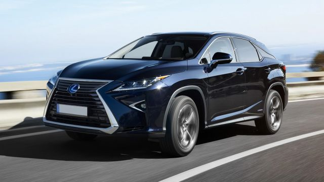 2018 Lexus RX 450h Hybrid, AWD - 2019 and 2020 New SUV Models