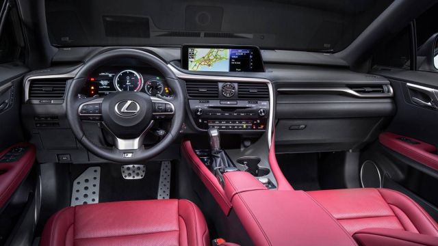 2019 Lexus RX 350 interior - 2019 and 2020 New SUV Models
