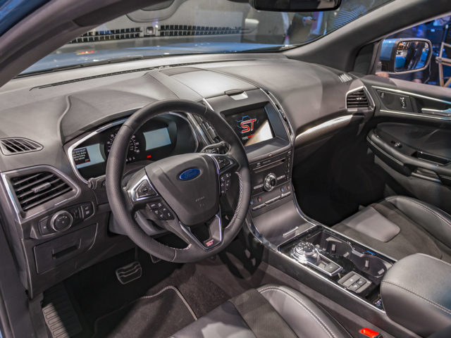 2019 ford edge st interior view 2019 and 2020 new suv models. Black Bedroom Furniture Sets. Home Design Ideas