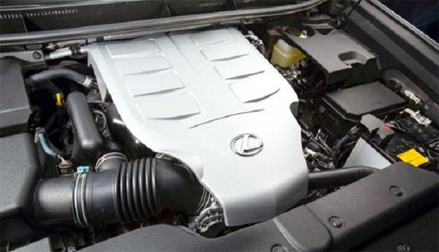 2020 Lexus GX 460 engine
